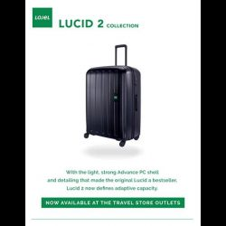 [The Travel Store] Lojel New Arrival: Lucid 2 Collection.
