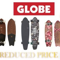 [INLINEX] REDUCED PRICE FOR GLOBE SKATEBOARD NOW ON TILL END DEC.