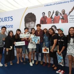 [Courts] Thank you for the overwhelming response at Kim Jong Kook Meet & greet in COURTS Megastore!