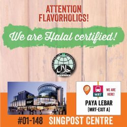 [Wing Zone Singapore] To All Our Easties Flavorholics!