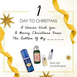 [L'Occitane] 1 DAY TO THE MOST WONDERFUL TIME OF THE YEAR!