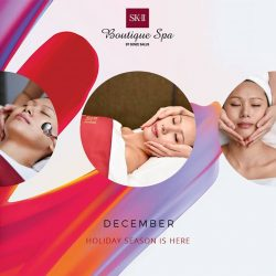 [SK-II Boutique Spa] December - The month of joy and happiness.