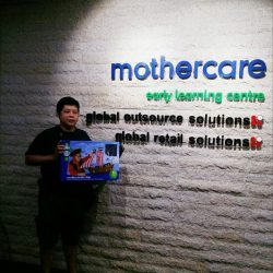 [Mothercare] Congratulations to the winners of our 12 Days of Christmas promo sharethegift mothercare Singapore!