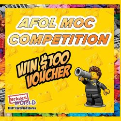 [Bricks World (LEGO Exclusive)] AFOL MOC Competition - Last Call!