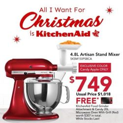 [KitchenAid] Not only a great gift to your loved ones but also an amazing addition to your kitchen!