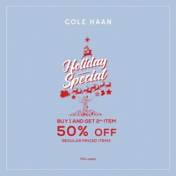 [Cole Haan] It's the season to be jolly and we're giving you a treat for your Xmas shopping!