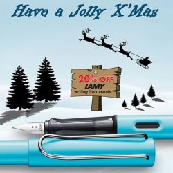 [Times bookstores] Lamy wishes everyone a Jolly Christmas!