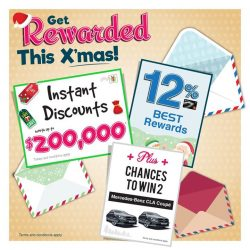 [Best Denki] Get Rewarded This X'mas with Instant Discounts worth up to $200,000* + chances to win 2 Mercedes-Benz CLA