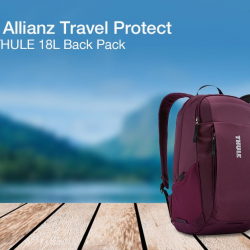 [Standard Chartered Bank] Travel with Allianz Travel Protect and enjoy 40% off Annual Plans plus a THULE 18L Back Pack, or 50% off