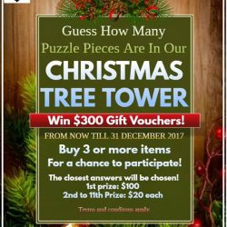 [Perfect Fit Jigsaw Puzzles] Win $300 worth of vouchers!