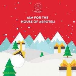 [Aerotel] Santa is feeling extra generous tonight and wants to giveaway 1x 100SGD Jetstar Asia VOUCHER & 1x Aerotel Airport Transit Hotel