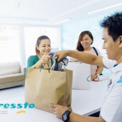 [Pressto Dry Cleaning] At Pressto, our cleaning process ensure that your garments will be clean properly and shorten the time of cleaning it