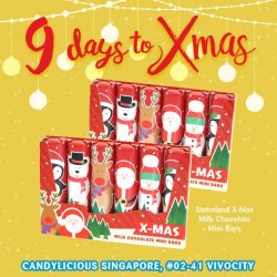 [Candylicious] Steenland X-Mas themed Milk Chocolate Mini Bars is ideal for all ages as a gift this festive season.