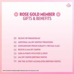 [Etude House Singapore] ETUDE HOUSE 2018 MEMBERSHIPDear Members, ETUDE HOUSE will be renewing our membership system with effect from 1 Jan 2018.