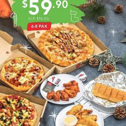 [Pizza Hut Singapore] Level up your stay-home GetKnotty game with our all-new Knotty Cheesy Pizza and more!