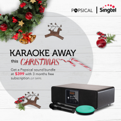 [Singtel] Karaoke for your parties this Christmas!