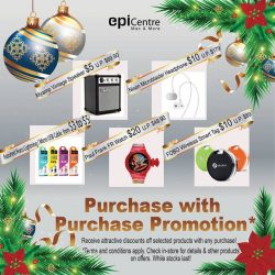 [EpiCentre Singapore] Our Purchase with Purchase Promotion continues with attractive offers!