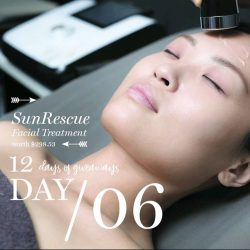 [Porcelain Aesthetics] It's day 6 of our 12DaysofGiveaways 🎁: win a SunRescue Facial Treatment (worth $298.