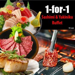 [Tenkaichi] 1 FOR 1 Premium and Deluxe Buffet is EXTENDED due to popular demand!