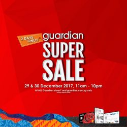 [UOB ATM] It's that time again for the Guardian Super Sale!