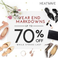 [Heatwave] Massive markdowns to usher in the new year!