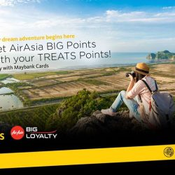 [Maybank ATM] Maybank Cards has partnered with AirAsia BIG to give you bigger and better travel rewards.