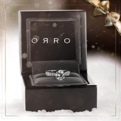 [ORRO Jewellery] A Christmas Gift from ORRO…Comes nestled in an elegant, heavy wooden box crafted from the stock of solid rosewood,