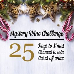 [Wine Connection] 25 days to Christmas, 25 chances to win 25 cases of wine!