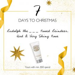 [L'Occitane] WE ARE NUTS ABOUT CHRISTMAS!