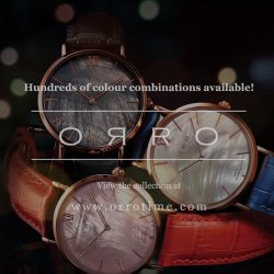 [ORRO Jewellery] Christmas Gifts for him & for her…☛ SALE - TWO Watches at the Price of ONE!