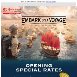 [Resorts World Sentosa] Special Opening Rates for The Maritime Experiential Museum