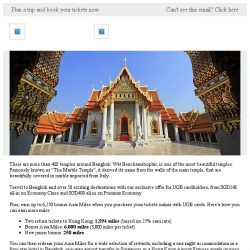 [Cathay Pacific Airways] UOB cards exclusive: Special fares from SGD248 all-in