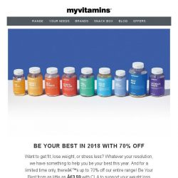[MyVitamins] New Year, New You   Save A Huge 70%!