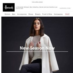 [Harrods] Your 2018 Style Update