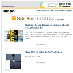 [Amazon] Business books, biographies & more at up to 80%...