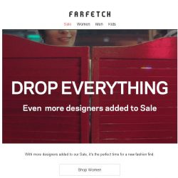 [Farfetch] Even more designers added to Sale