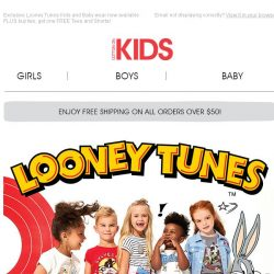 [Cotton On] The wait is over…Looney Tunes have ARRIVED!