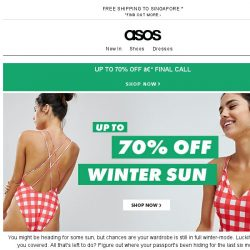 [ASOS] Final call – up to 70% off