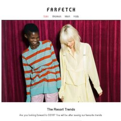 [Farfetch] The top 4 new-season trends to know