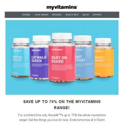 [MyVitamins] Last Chance - Save up to 70%!