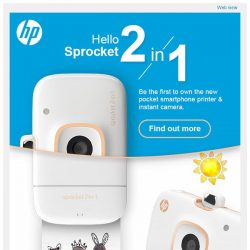 [HP Singapore]  Introducing the new HP Sprocket 2-in-1!