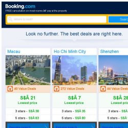 [Booking.com] Macau, Ho Chi Minh City, or Shenzhen? Get great deals, wherever you want to go