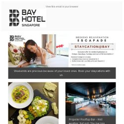 [Bay Hotel] Delighting your January with all things good