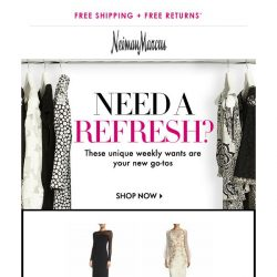 [Neiman Marcus] Attn: You've snagged THIS from St. John Collection + more