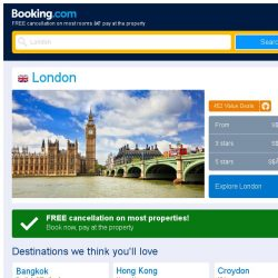 [Booking.com] Prices in London dropped again – act now and save more!