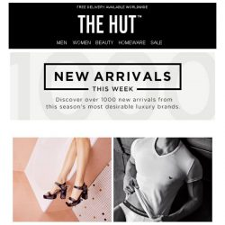[The Hut] The new arrivals you need now