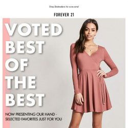 [FOREVER 21] Voted BEST of the Best 🏅