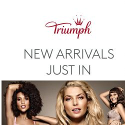 [Triumph] NEW Arrivals + FREE Swarovski Crystal Worth $120!