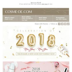 [COSME-DE.com] 【Secret Offer】2018 Must-buy Product List!