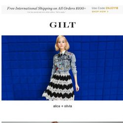 [Gilt] alice + olivia, Designer Outerwear: Up to 80% Off and More Start Now